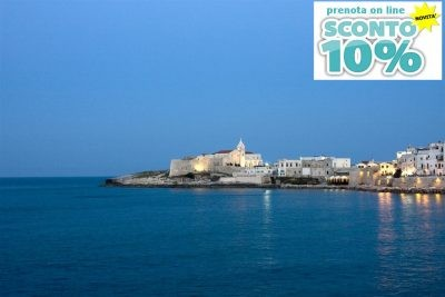 Book online 10% discount at B&B Vieste